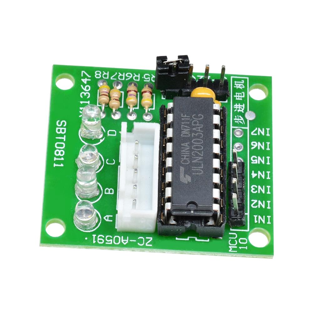 5V ULN2003 Stepper Motor 4 Phasen Schrittmotor Treiberplatine Modul für Arduino