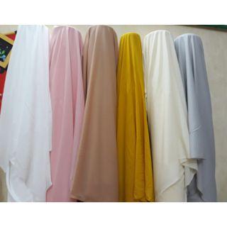 Vải Lót Habutai Loại Đẹp Nhiều Màu 1m
