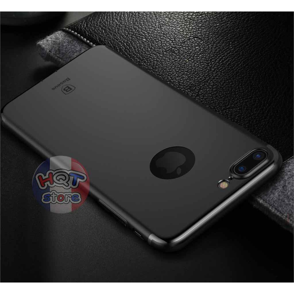 Ốp lưng dẻo TPU siêu mỏng Baseus Solid Color cho Iphone 7/7 Plus
