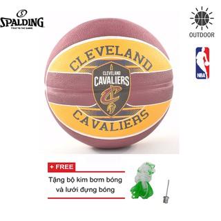 Bóng rổ Spalding NBA Team Cleveland Cavaliers Outdoor size 7