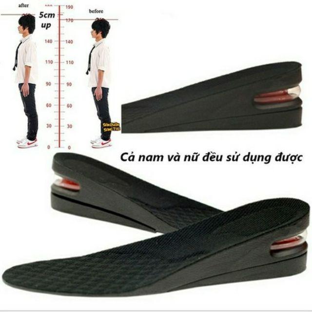 Lót giày tăng chiều cao ( loại 3 lớp chuẩn cao)