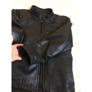 blazer nam quần Áo da thật nam(cam kết da nguyên tấm)(vui lòng chat với shop để shop chọn size và mẫu ạ)