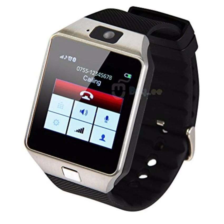 Đồng hồ điện thoại tiếng Việt đa chức năng DZ-09 (đen)