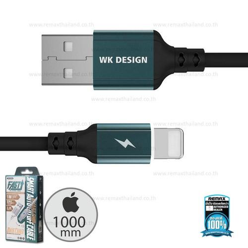 Dây Cáp Sạc iPhone Tự Ngắt Chính Hãng WK Design - Bảo Hành 1 Năm Lỗi 1 Đổi 1
