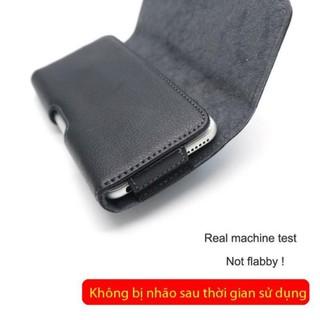 Bao da Nuoku đeo thắt lưng đa năng cho máy từ 4.7inch đến 6.7inch da thật siêu đẹp thumbnail