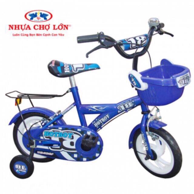 Xe đạp trẻ em nhựa chợ lớn 12 inch
