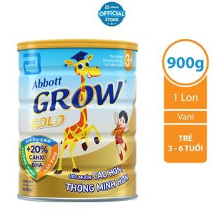 Sữa bột Abbott Grow Gold 3 900g