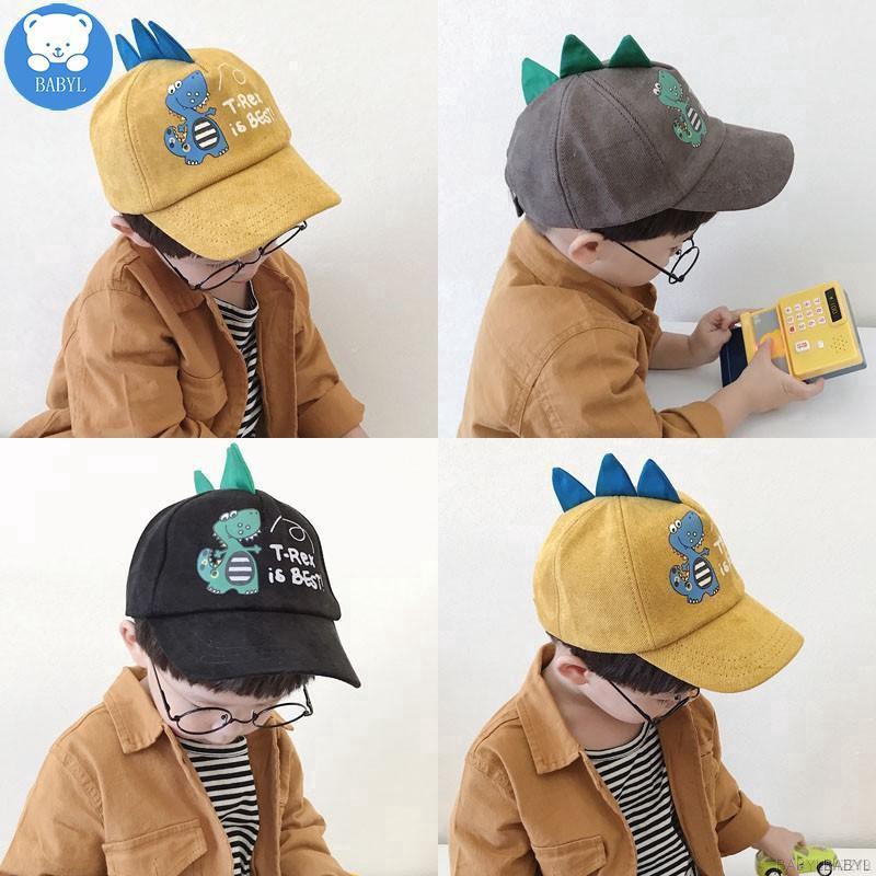 Mũ lưỡi trai họa tiết khủng long hoạt hình dễ thương cho bé - Hàng nhập khẩu