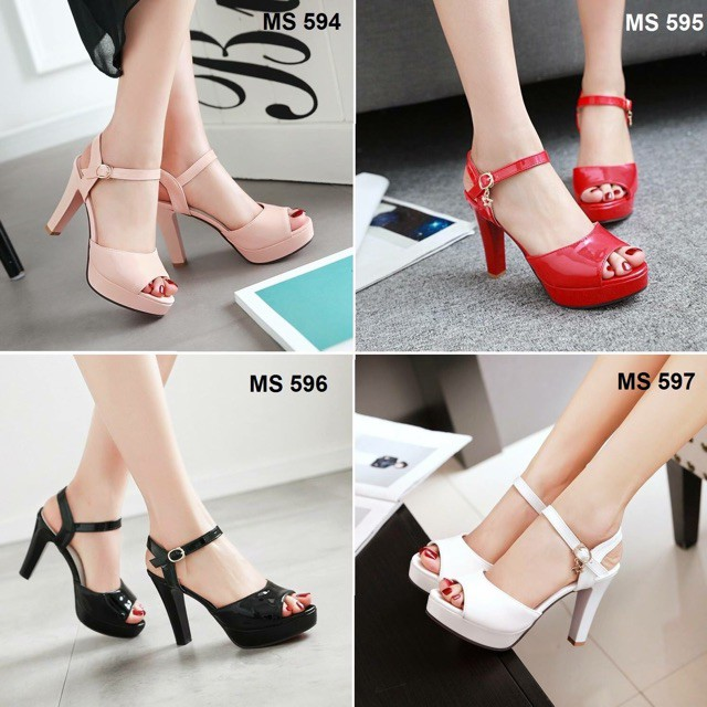 giày cao gót giá rẻ/freeship từ 150k/Giày cao gót h