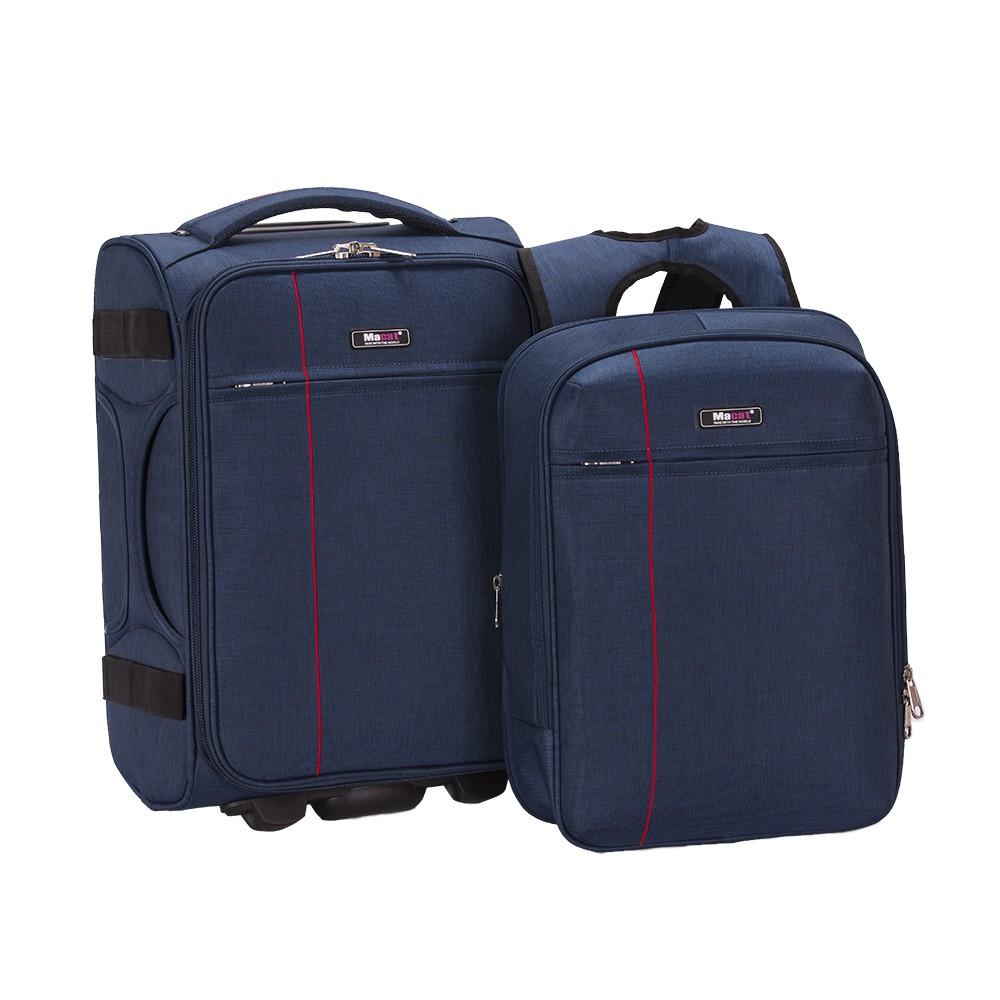 Bộ vali kèm balo laptop V8T (Navy)