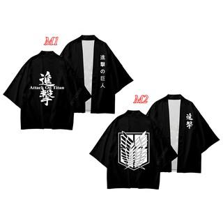 áo ATTACK ON TITAN, áo khoác kimono đội trinh sát trong ATTACK ON TITAN phong cách Nhật Bản