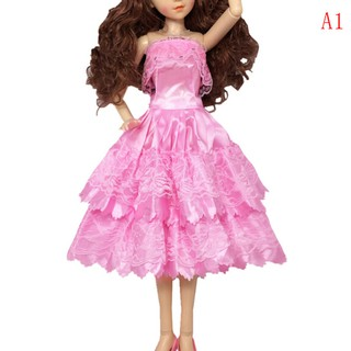 ❉❉Handmade doll pink princess dress for 60cm 1/3 bjd dolls party daily cloth