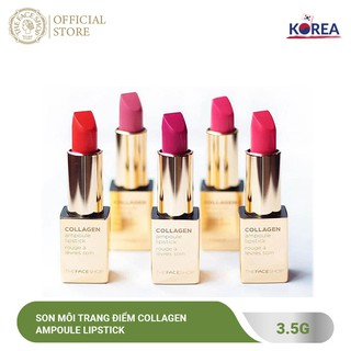Son Môi Trang Điểm TheFaceShop Collagen Ampoule Lipstick 3.5g