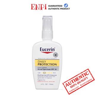 Kem chống nắng Eucerin Daily Protection Moisturizing Face Lotion thumbnail