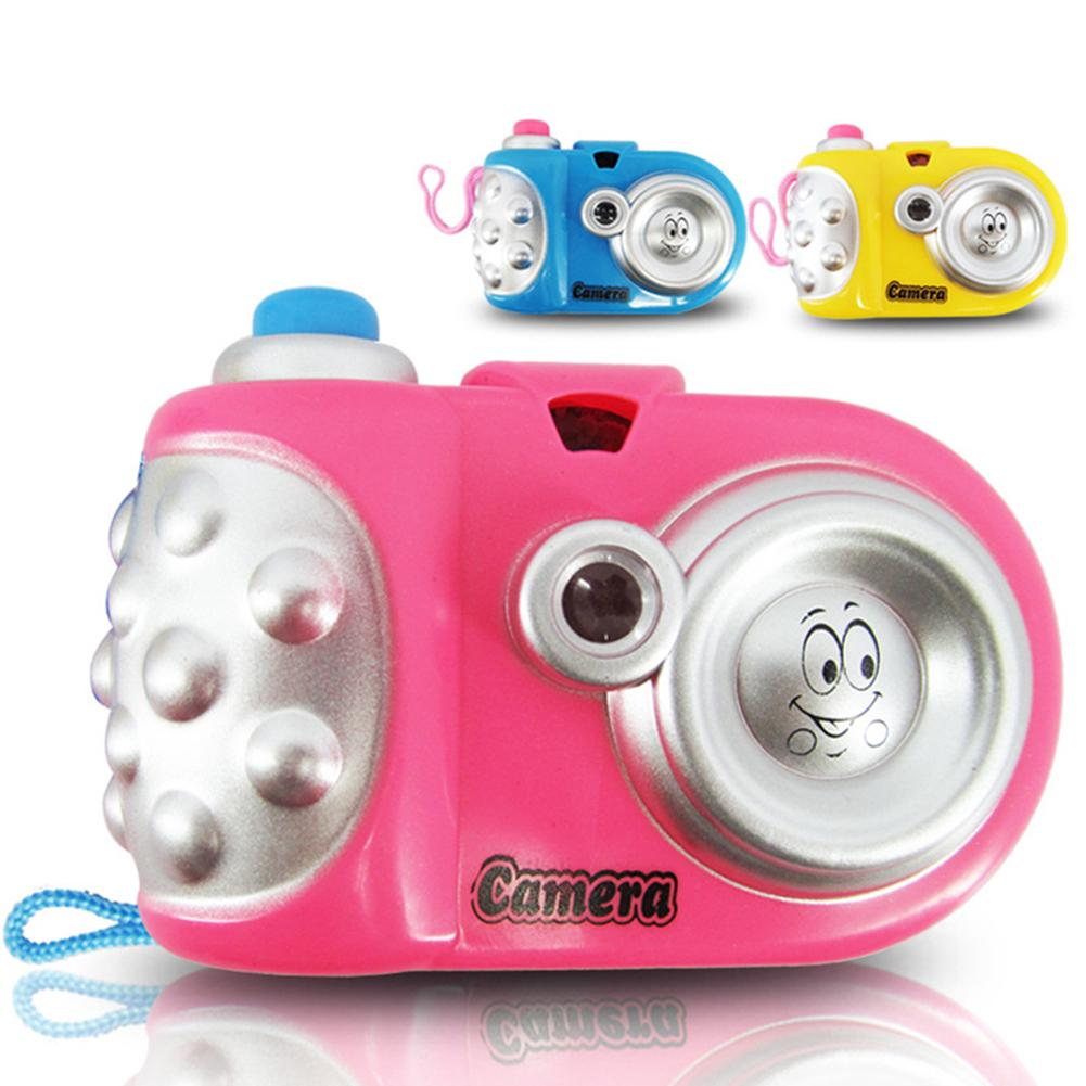 Children Educational Toys Cartoon Projection Camera