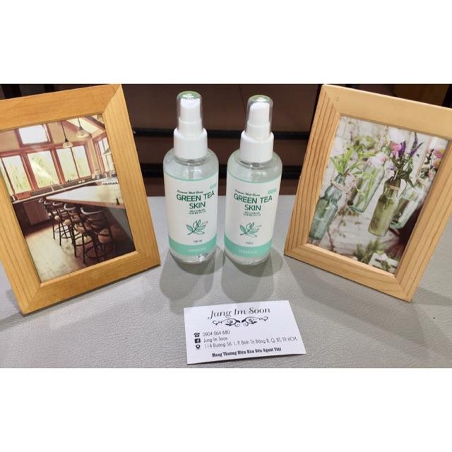Nước Hoa Hồng Sidmool Wellbeing Green Tea Skin Toner