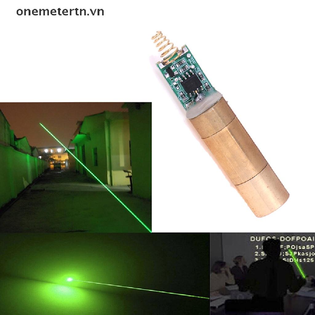 【onemetertn】 532nm 30~50mW green Spot laser module laser diode light free driver [VN]