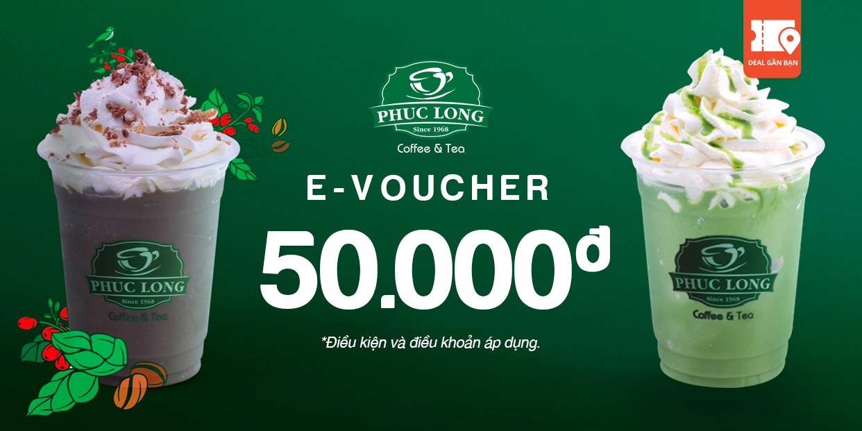 E-Voucher Phúc Long 50.000