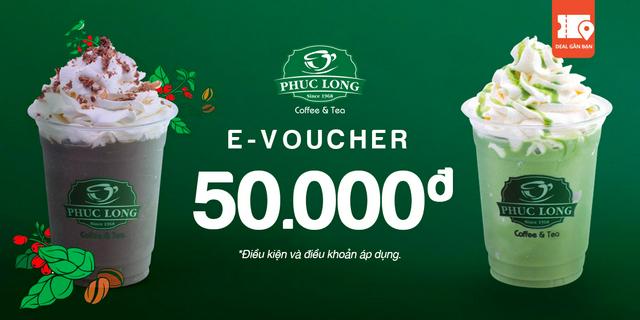 """E-Voucher Phúc Long 50.000 giá chỉ còn <strong class=""""price"""">3.550.000.000đ</strong>"""