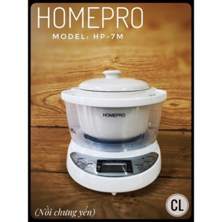 [Mã ELMALL44 giảm 9% đơn 440K] Nồi trưng yến Homepro HP-7M- hàng chính hãng