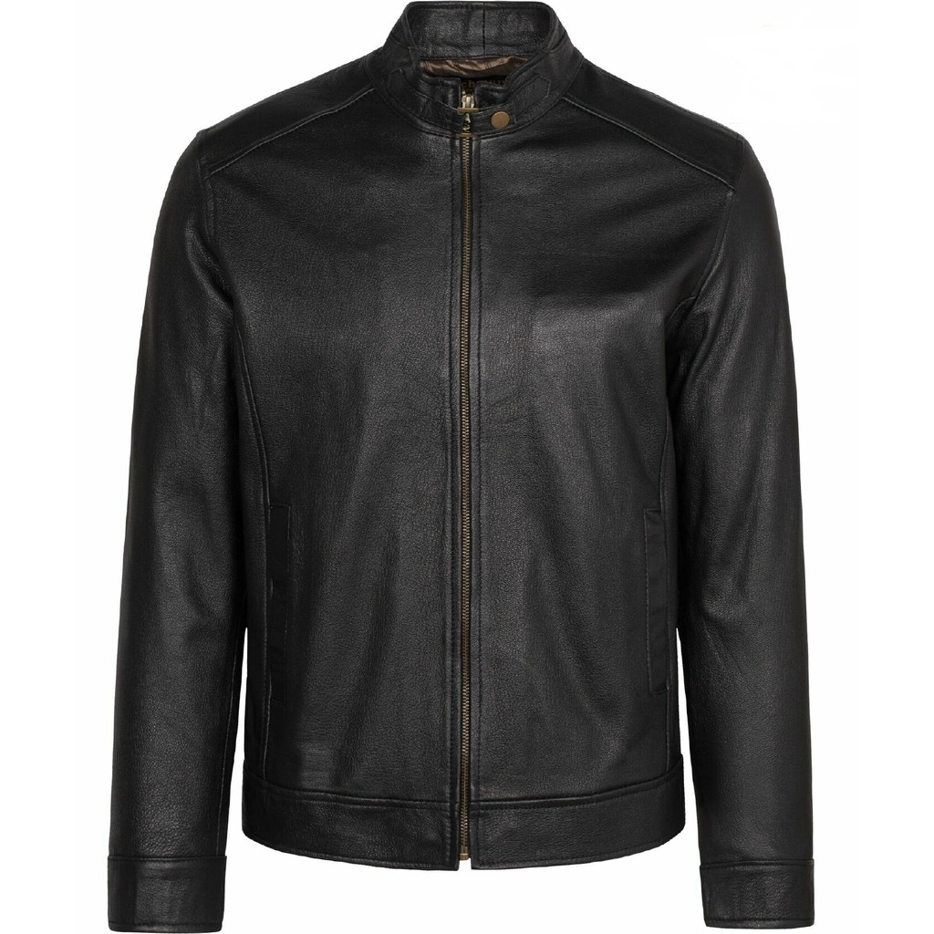 Áo khoác da nam da dê - áo da dê FTT Leather 100% da thật - Áo khoác dạ