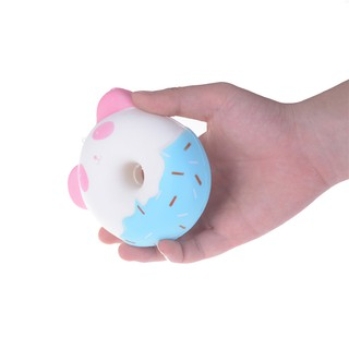 ❤❤10cm Panda Donuts Soft Squeeze TOY Jumbo Squishy Slow Rising Kid Toys Gift