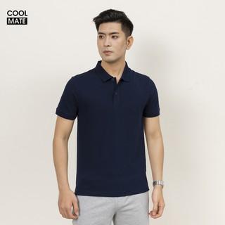 Áo thun nam Polo Coolmate cổ bẻ chất liệu Cotton