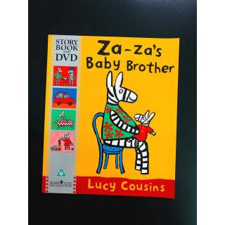 Time For a Story: Za-za's Baby Brother Book & DVD