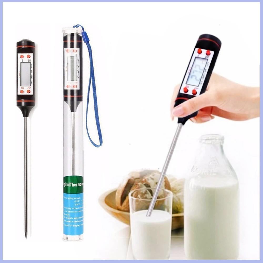 Nhiệt kế điện tử đa năng-  đo nhiệt độ nước, sữa, thực phẩm