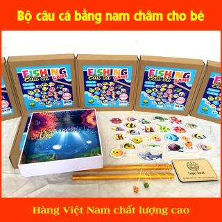 Bộ đồ chơi câu cá bằng nam châm cho bé - hàng Việt Nam chất lượng cao thumbnail