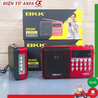 Loa nghe nhạc BKK KK50C có đèn pin, thẻ nhớ, cắm USB, nghe đài radio FM, Bh 6 tháng thumbnail