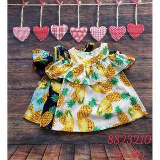 Hàng hè 2020 Váy BabyPoint cho bé size 12m - 3y, dành cho bé từ 8kg đến 15kg, chất cotton mềm mịn