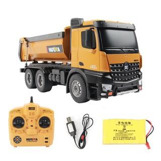 [bán chạy]Xe tải ben Huina573 nhâng ben tới 5kg