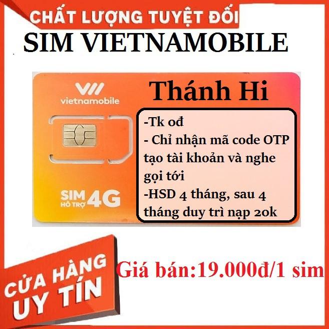 Sim vietnamobile gói cước thánh hi nhận mã code otp