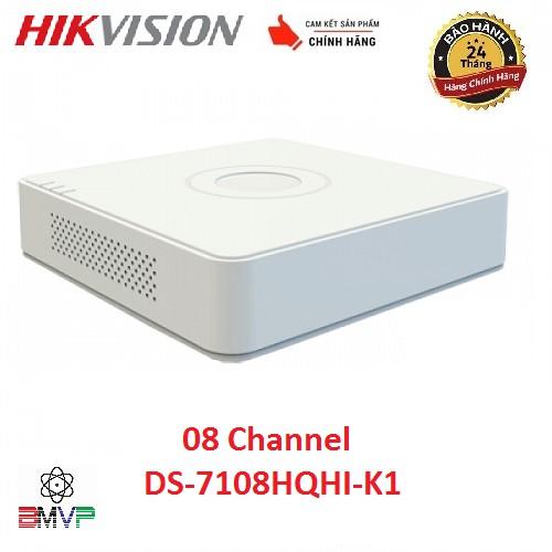 Đầu ghi hình 8 kênh Turbo HD 4.0 Hikvision DS-7108HQHI-K1 - Hàng chính hãng