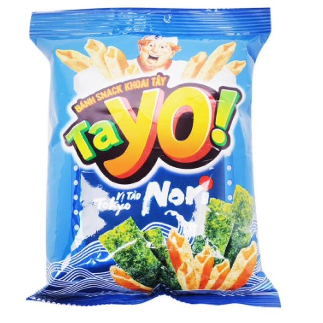 Bánh snack khoai tây Tayo vị tảo Tokyo Nori 30g - 2562611 , 459114891 , 322_459114891 , 10000 , Banh-snack-khoai-tay-Tayo-vi-tao-Tokyo-Nori-30g-322_459114891 , shopee.vn , Bánh snack khoai tây Tayo vị tảo Tokyo Nori 30g