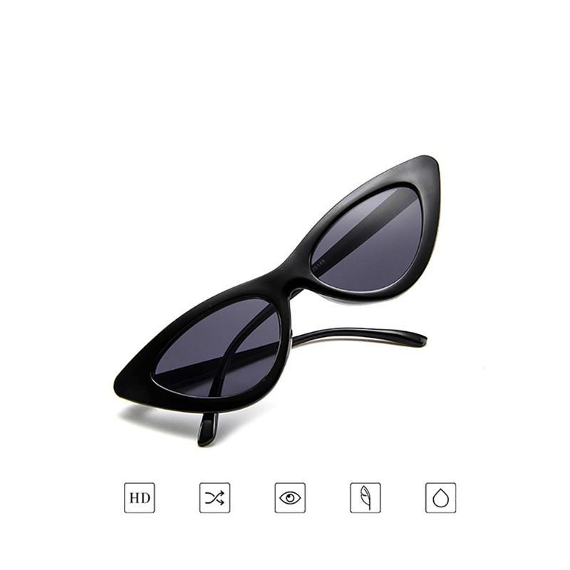 [ Hàng Hot ] Kính mát hiệu Sunglasses mắt mèo phong cách Retro cho nữ
