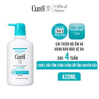 Sữa Tắm Toàn Thân Cấp Ẩm Chuyên Sâu Curel Intensive Moisture Care Body Wash 420ml thumbnail