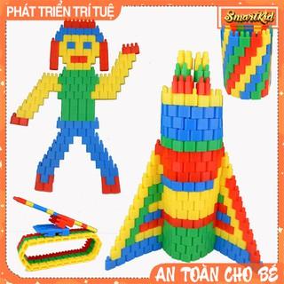 Xếp Hình Lắp Ghép Hình Đạn Nhựa Cho Bé 2-9 Tuổi_Đồ Chơi Giáo Dục thumbnail