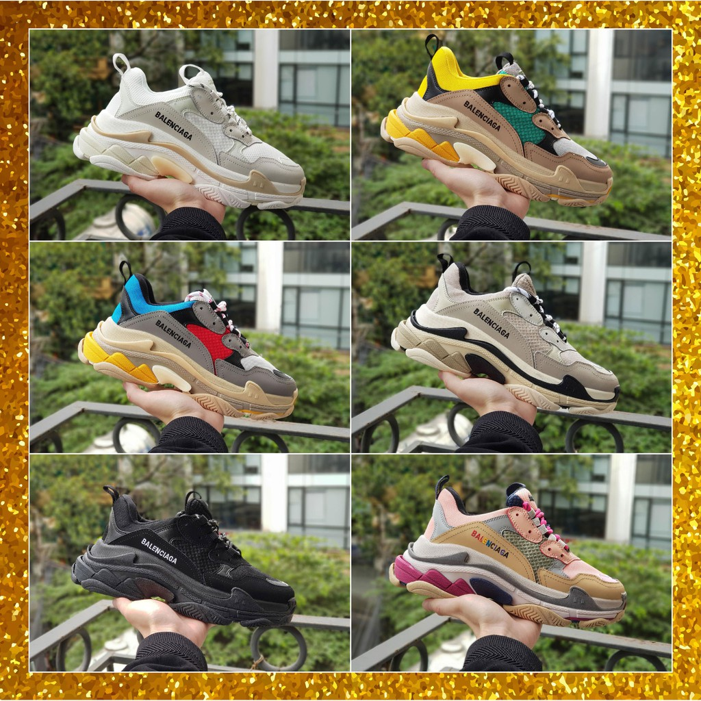 Giày Sneaker Balenciaga [Tặng Dây + Túi vải + Bill]