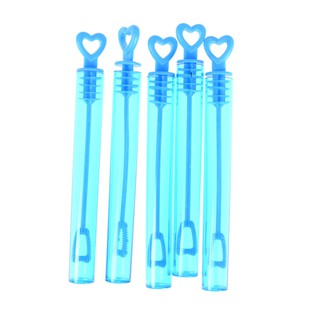 ☆VN 5 x Love Heart Wand Tube Wedding Favour Bubbles Soap Bottle Kid Toy Party Decor