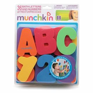 Bộ chữ xốp Munchkin- Đồ chơi trong nhà tắm, bồn tắm