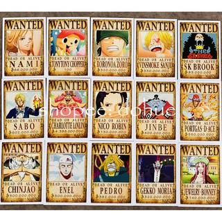 Thẻ Bài Poster Lệnh Truy Nã Onepiece Wanted Marine (100 mẫu) thumbnail