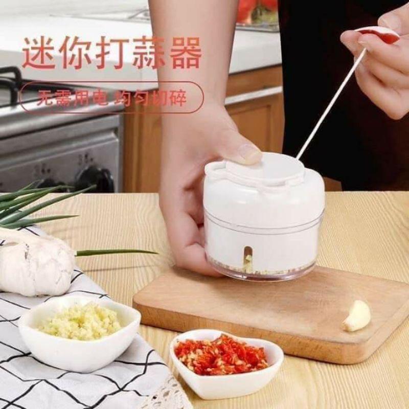 Máy xay thực phẩm mini bằng tay