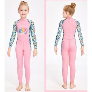 Đồ bơi chống nắng bé gái – Đồ bơi dài tay trẻ em mẫu