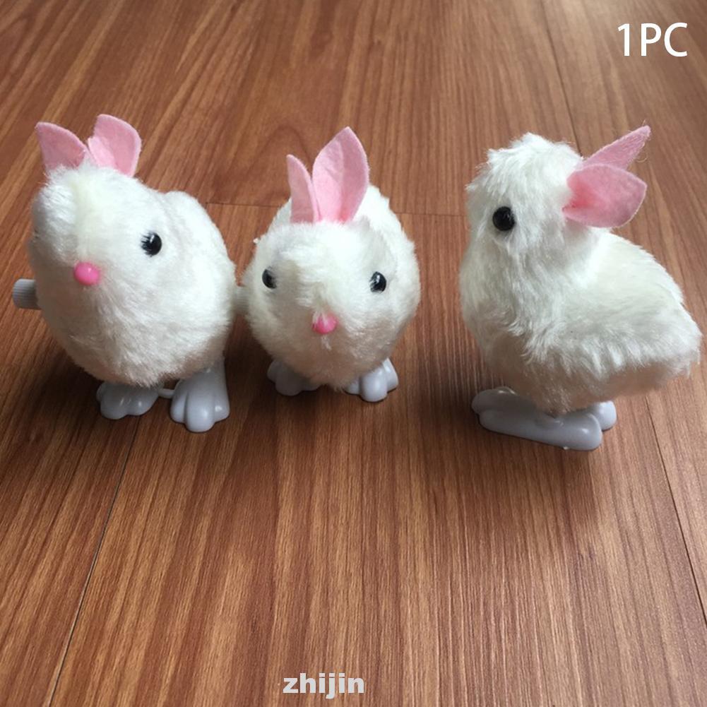 Clockwork Rabbit Easter Eco-friendly Educational Funny Stuffed Toy