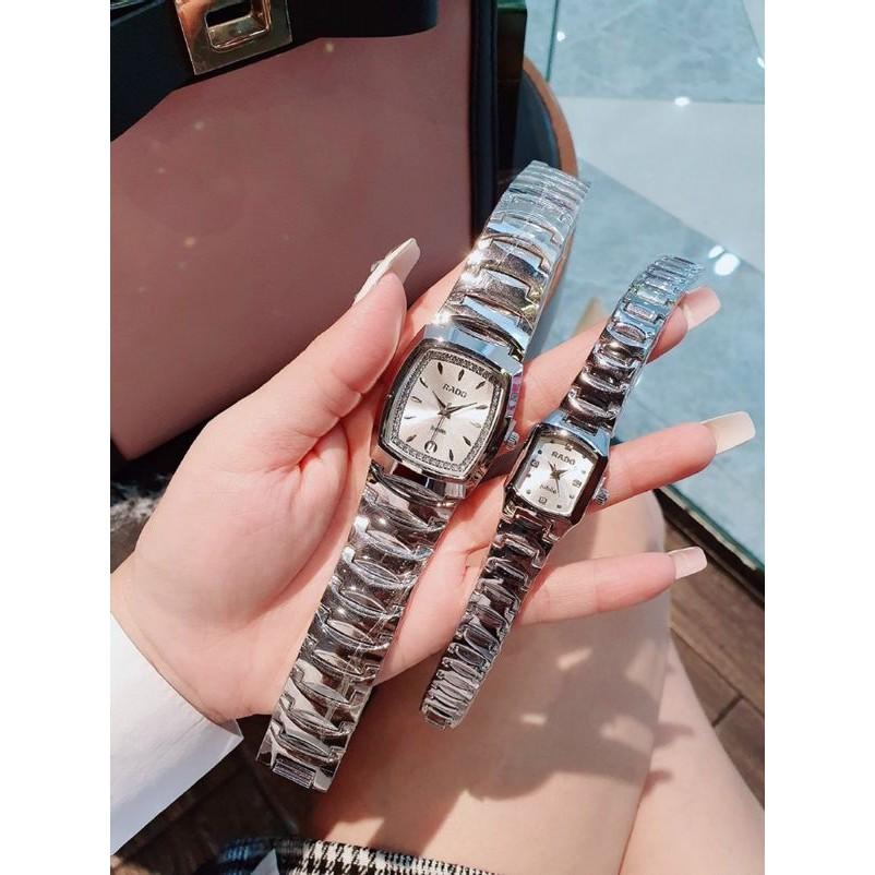 ⏰FREESHIP⏰ Đồng hồ đôi nam nữ Raddo sang trọng dành cho couple