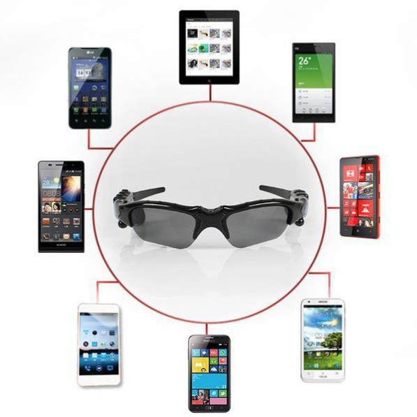 Mắt Kính Thời Trang Kiêm Tai Nghe Bluetooth hiện đại thông minh