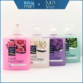 Nước Rửa Tay Dưỡng Da Kháng Khuẩn Aqua Vera Liquid Hand Wash thumbnail