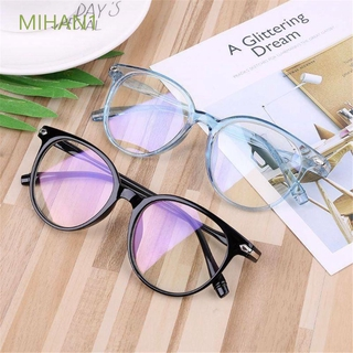 MIHAN1 Ultralight Vision Care Flexible Portable PC Frame&Resin Lens Transparent Glasses Frame Computer Glasses